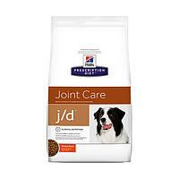Hills Prescription Diet Canine j/d 2 кг -корм для собак лікування артриту (4516)