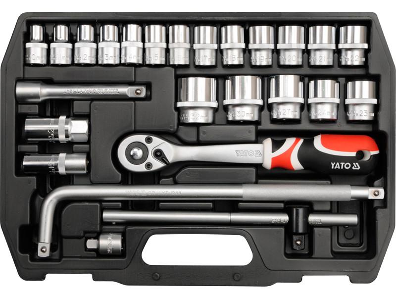 Набір інструменту для ремонту автомобіля 25 предметів Yato YT-38741