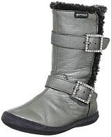 Зимові чобітки для дівчинки Garvalin 121630 сріблясті 24-33