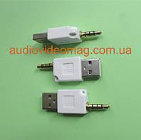 Переходник штекер USB A - штекер 3.5 (4 pin)