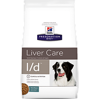 Hills Prescription Diet Canine L/d 2кг -корм для собак лечение печени (8660)