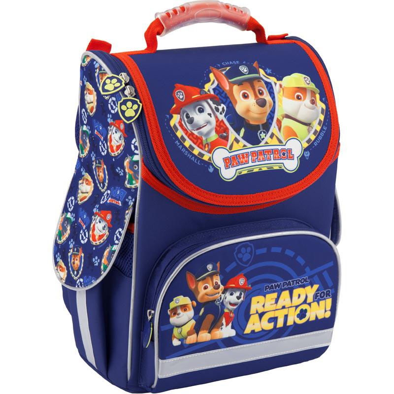 Каркасный школьный ранец для мальчика Kite с принтом Щенячий патруль 34*26*13 см