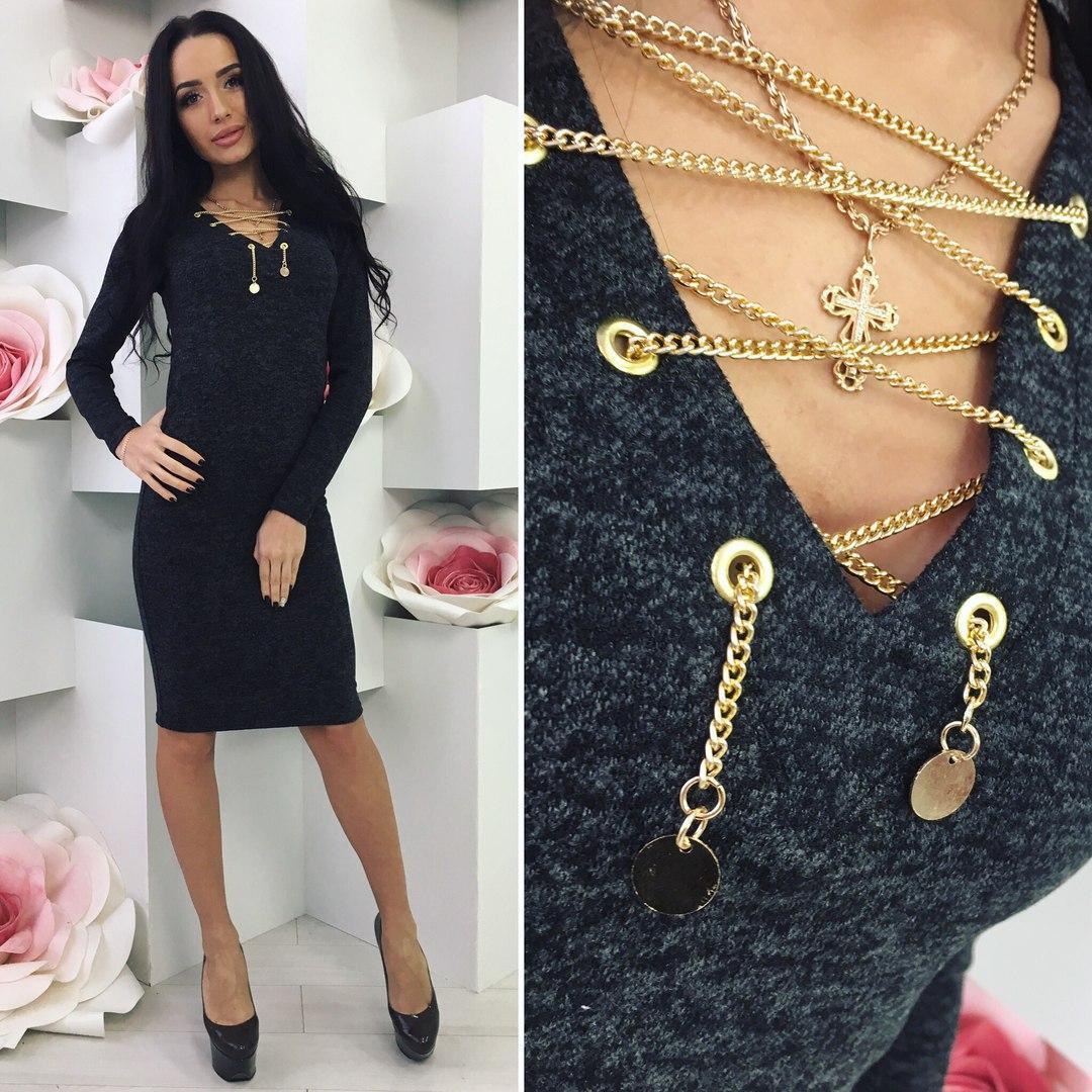 Черное платье «Amy»
