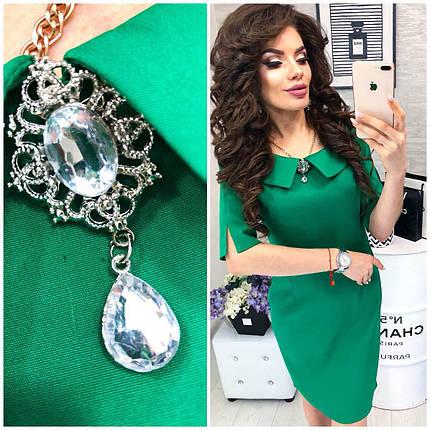 Зеленое платье, фото 2
