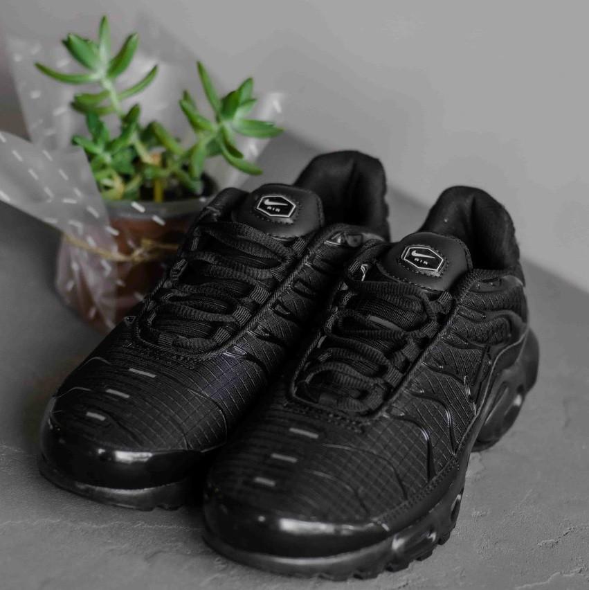 Кроссовки Nike Air Max TN All Black мужские  купить в Киеве ... 44f162254d940
