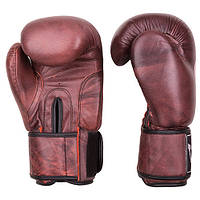 Боксерские перчатки Velo antique, кожа, 10oz,12oz