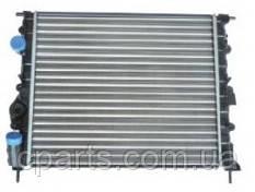 Радиатор основной Renault Logan без кондиционера (Asam 30215)(среднее качество)