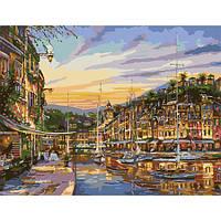 """Картина по номерам """"Тихая гавань"""" 50х65 см."""