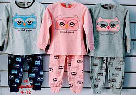 Пижама для девочек Setty Koop 4-12 лет