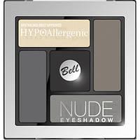 Тени для век сатиново-кремовые №02(Nude Eyeshadow) HYPOAllergenic