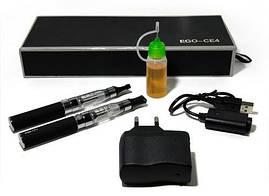 "Электронная сигарета 2 шт в футляре ""eGo - CE4"" аккумулятор 1300 мАч."