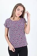 Недорогая летняя блуза из софта. Модель 3019, фото 1