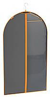 Чехол для одежды с прозрачной вставкой 110х60см Granchio 88936
