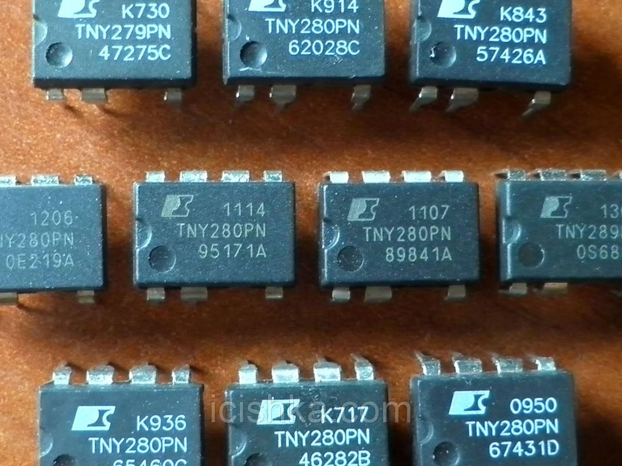 TNY280PN DIP7 - ШИМ контроллер для ИБП