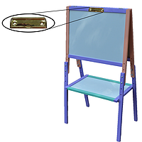 Мольберт детский Высота регулируется до 110 см. Доска для рисования. К11