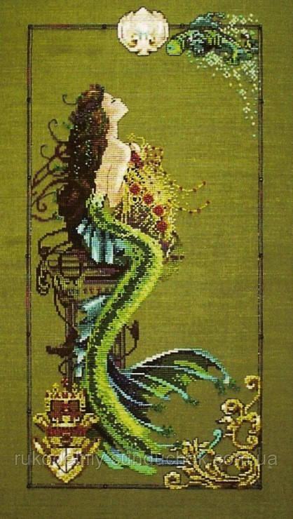 """Схема """"Mermaid Of Atlantis//Русалка Атлантиды"""" Mirabilia Designs MD95"""