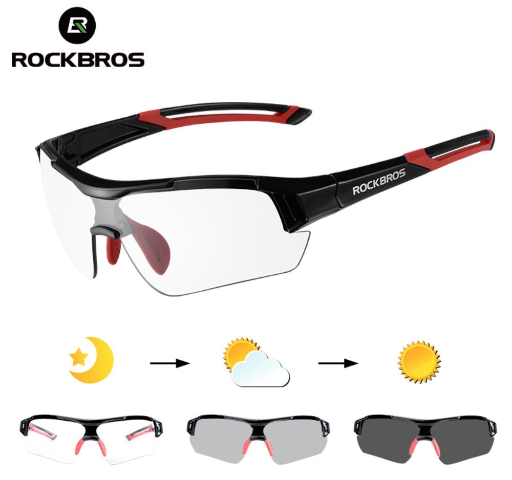 Окуляри для велоспорту RockBros Photochromatic 2.0 фотохромная лінза (хамелеон)