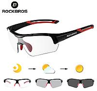 Окуляри для велоспорту RockBros Photochromatic 2.0 фотохромная лінза (хамелеон), фото 1