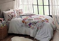 Семейное постельное белье  TAC ранфорс MELISSA V01 PEMBE