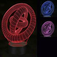 3D Светильник Тринити
