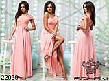 Шикарное вечернее платье в пол  от ТМ Balani  р.42-46, фото 5