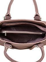 Сумка Женская Классическая иск-кожа ALEX RAI 7-01 9936-2 grey-purple, фото 3