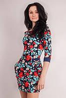 Женское платье приталенного силуэта, фото 1