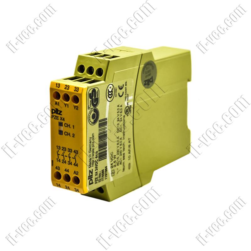 Реле безопасности PZE X4 24VDC pilz 774585