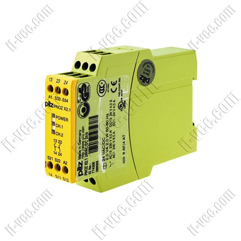 Реле безопасности PNOZ X2.1 24VDC/AC pilz 774306
