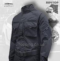 Форма полиции синяя Alpha Tactical Teflon Сamo-tec