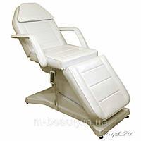Кушетка косметологическая электрическая + ПОДОГРЕВ автоматическое кресло -кушетка для косметологии