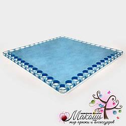 Квадратная прозрачная заготовка (оргстекло), 10 см