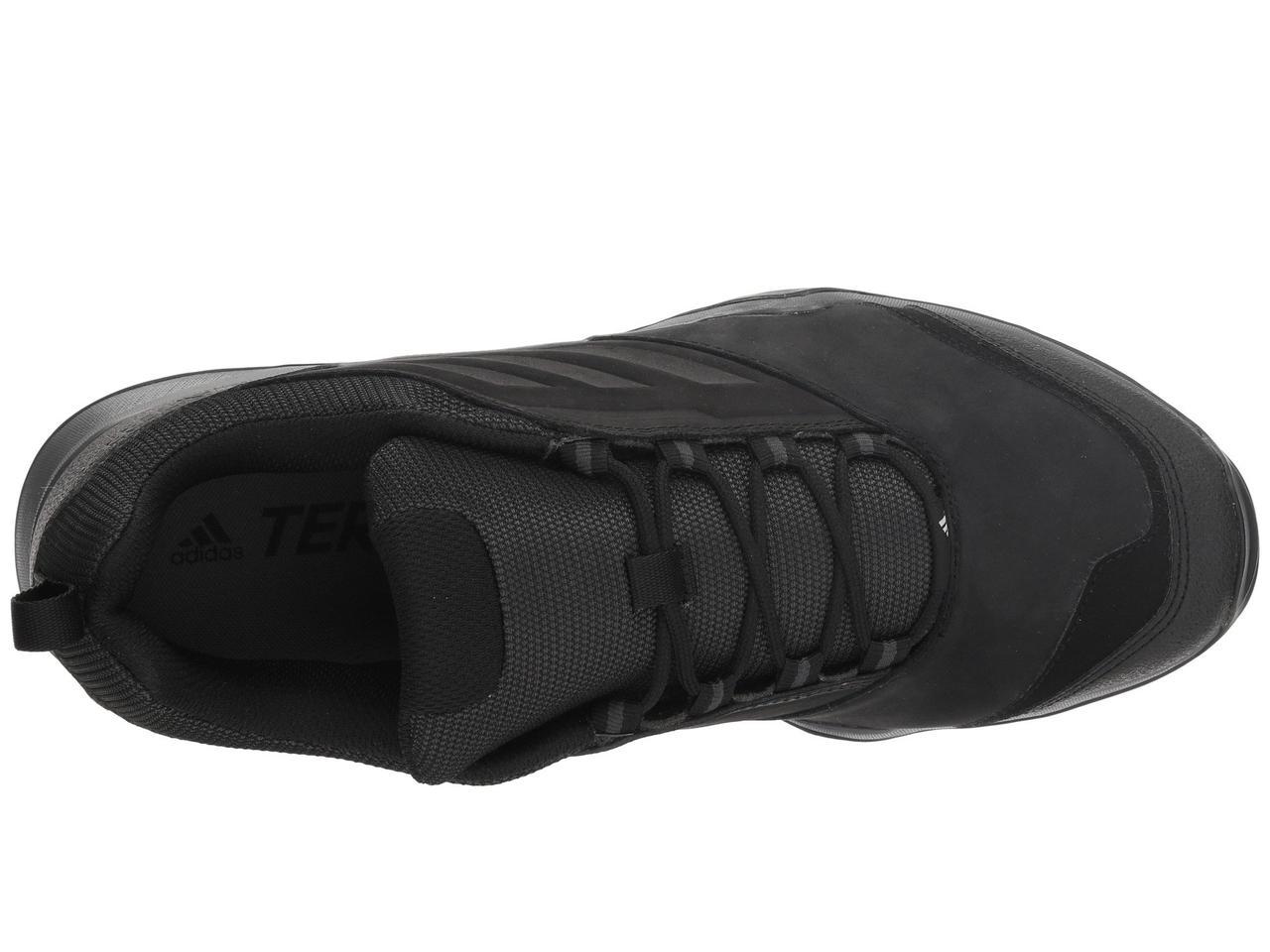 70426078b3a ... Кроссовки Кеды (Оригинал) adidas Outdoor Terrex Brushwood Leather  Black Black Grey ...