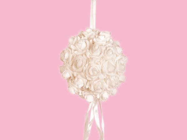 Подвеска Свадебная Шар из роз 22