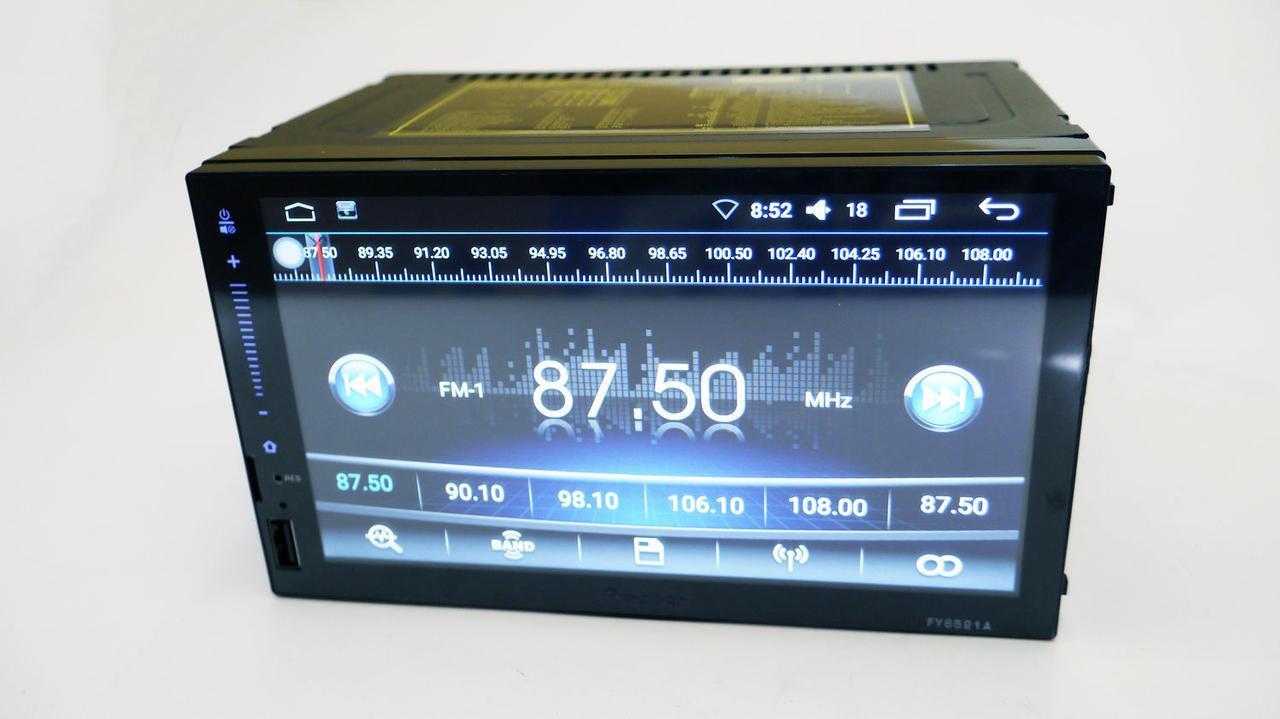2din Pioneer FY6521 GPS+4 ядра+16Gb ROM+1Gb RAM+Adnroid