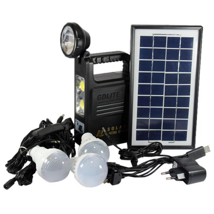 GD 8033 Система Освещения Solar Board с тремя лампами