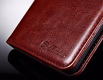 Кожаный чехол-книжка для Meizu m3s/ m3 mini / m3 черный, фото 3
