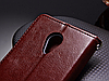 Кожаный чехол-книжка для Meizu m3s/ m3 mini / m3 черный, фото 4