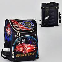 """Школьный рюкзак """"Moto Cars"""". Ортопедическая спинка"""