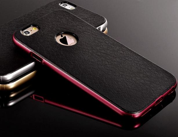 Роскошный чехол бампер для iPhone 5 5S розовый, фото 2