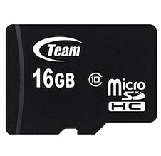 Карта памяти microSDHC 16GB Team Class 10 (TUSDH16GCL1002)
