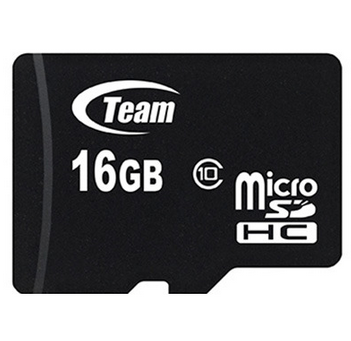 Карта памяти microSDHC 16GB Team Class 10 (TUSDH16GCL1002), фото 2