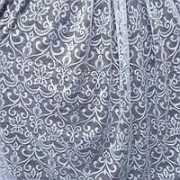 Жаккардовый ажурный тюль с густым узором, высота 2,8м, фото 1
