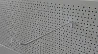 Торговий гачок (крючок) 300мм на перфорований метал, фото 1