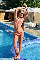 Купальник топ для девочек Amarea 18900 158 Красный Amarea 18900