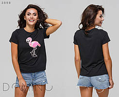 """Женская футболка """"1167"""" (р. 44 - 46) купить в розницу по оптовой цене"""