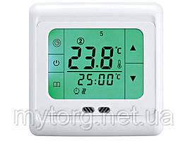 Сенсорный терморегулятор для инфракрасных обогревателей С07.H3  Зеленый