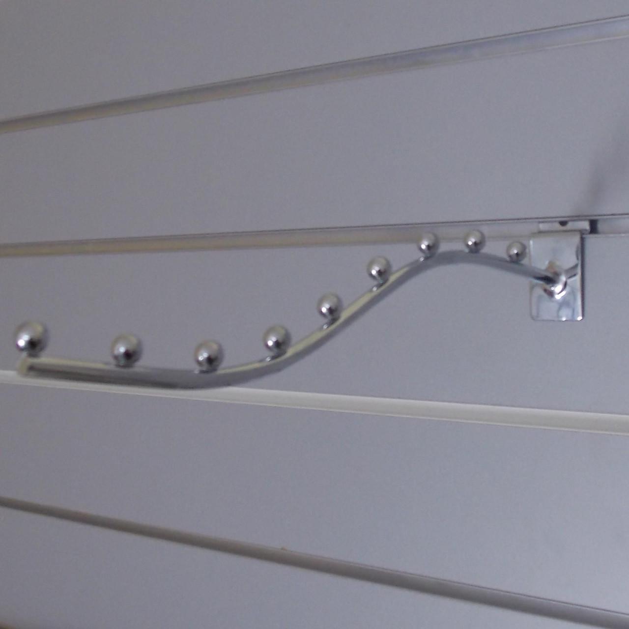 Флейта кронштейн хром розміром 350мм в організації економпанель
