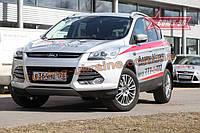 Декоративные элементы противотуманных фар d10 Союз 96 на Ford Kuga 2013
