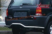 """Защита задняя """"волна"""" d 60 Союз 96 на Mazda Tribute 2001-2004"""